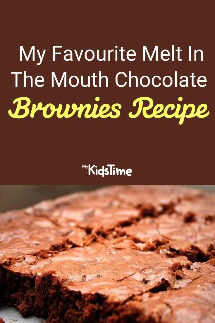 My Favourite Melt In The Mouth Chocolate Brownies Recipe