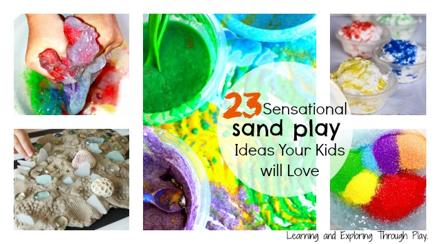 Sand Play Featured
