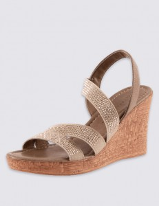 Holiday Packing List Wedge Sandals from M&S
