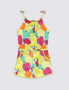 Holiday Packing List Girls Playsuit from M&S