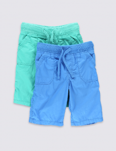 Holiday Packing List M&S Boys Shorts