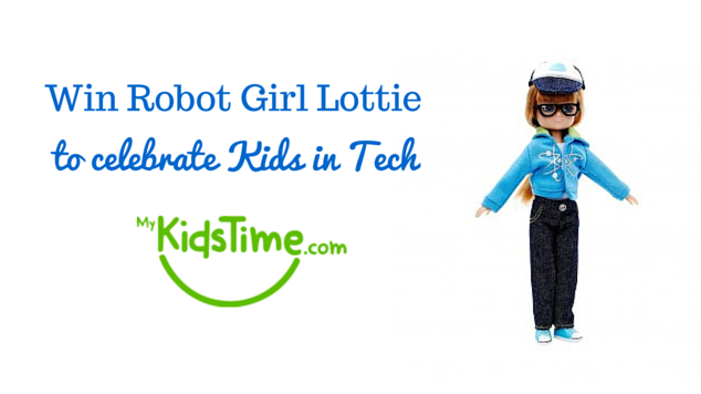 Win Robot Girl Lottie to celebrate Kids