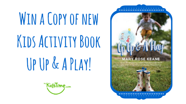 Win a Copy of new Kids Activity Book Up Up
