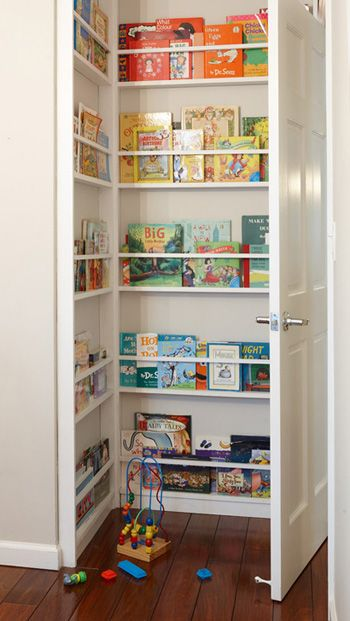 behind the door book storage