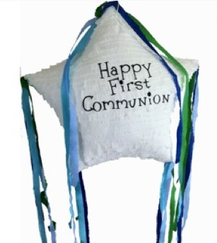 First Communion Gifts Star Pinata