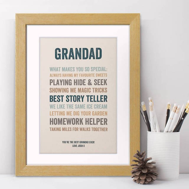 gift ideas for grandparents