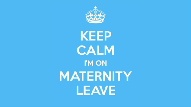 keep calm i'm on maternity leave featured