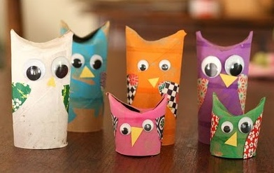 Owls from The Natural Kids Team