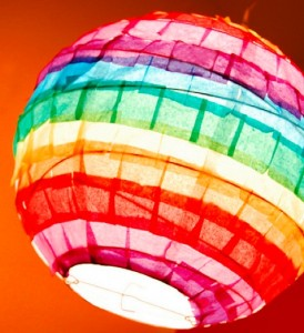 Crafts for Kids aged 8 to 12 Rainbow Paper Lanterns