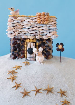 Shell House from Martha Stewart