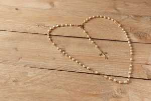 first communion gifts rosary beads