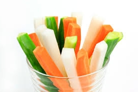 lunch box ideas veggie sticks