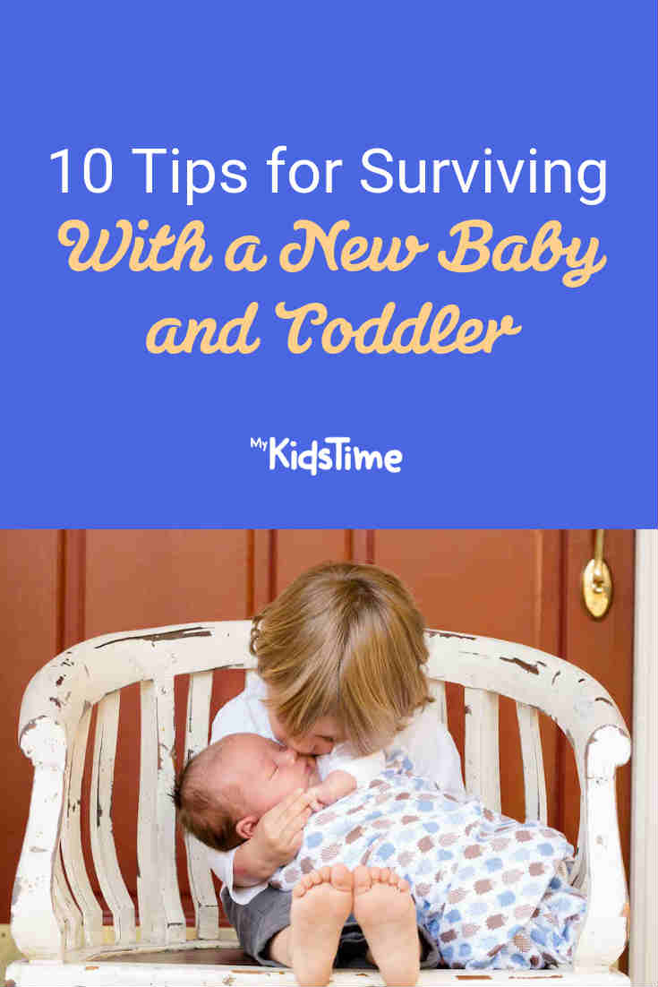 10 Tips for Surviving With a New Baby and Toddler - Mykidstime