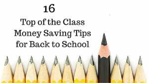 money saving tips back to school