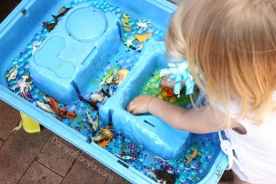 summer activities for kids water play