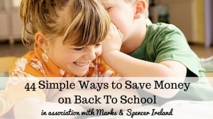 Save Money on Back To School