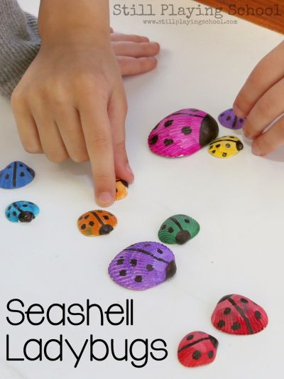 fun summer activities for kids shell crafts