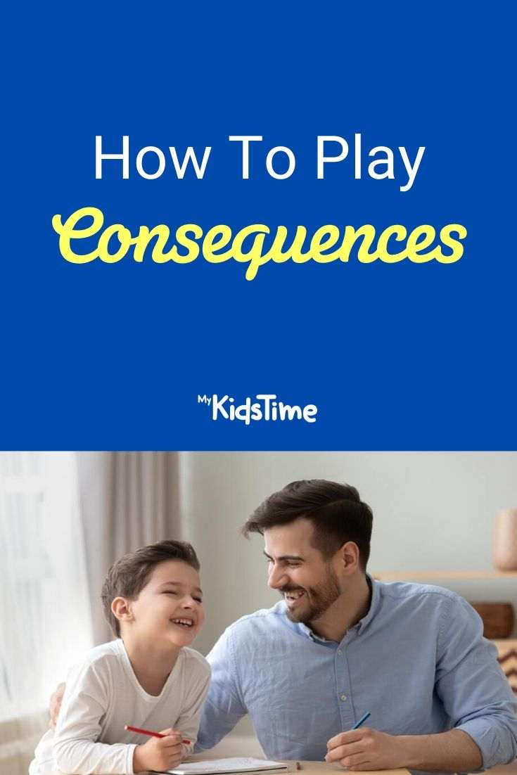 How to play consequences pinterest