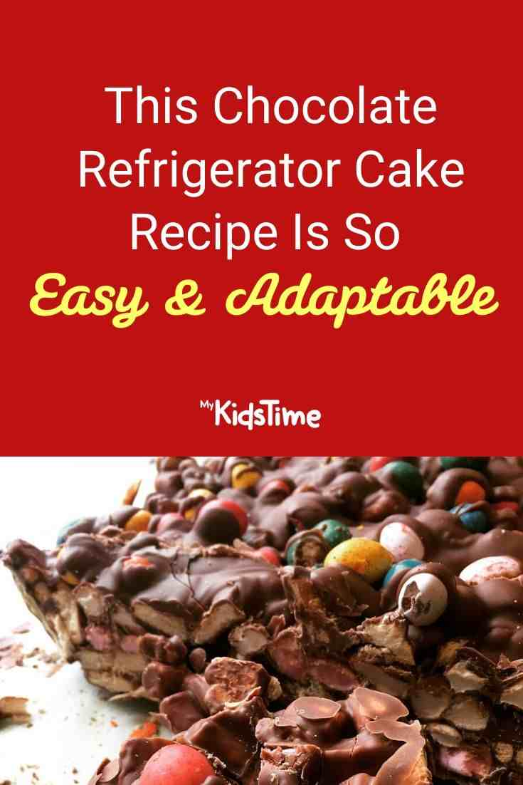 This Chocolate Refrigerator Cake Recipe Is So Easy And Adaptable