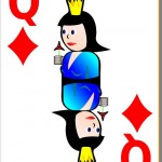 Playing Cards Queen