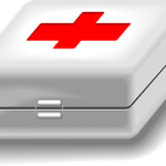 Car travel with kids emergency first aid kit