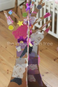 imagination tree cardboard tree