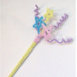 pipe-cleaner-magic-wand-craft
