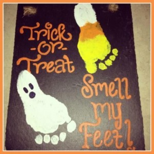 trick or treat -smell my feet
