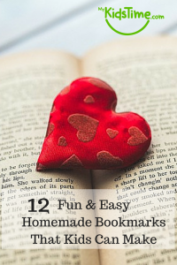 10 Fun & Easy Homemade Bookmarks Pin