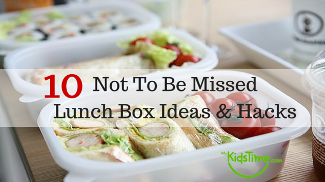 10 Not To Be Missed Lunch Box Ideas &