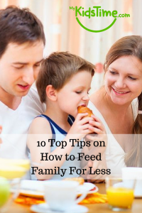 10 Top Tips on How to Feed Family For Less Pinterest