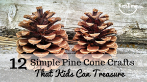 12 Perfectly Simple Pine Cone Crafts Kids