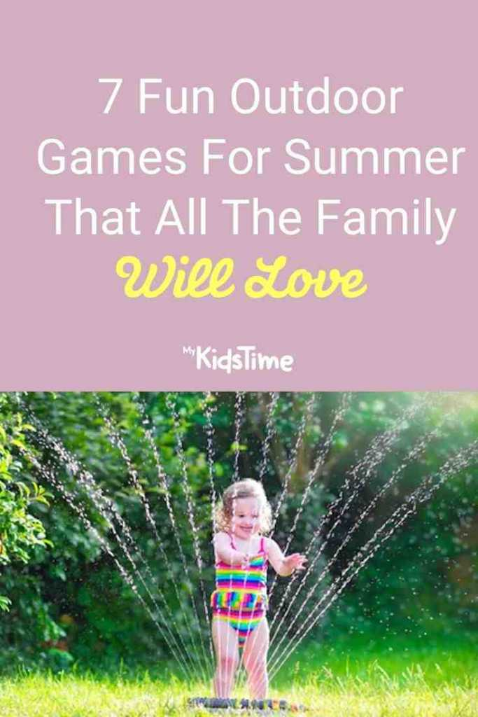 7 Fun Outdoor Games For Summer That All The Family Will Love