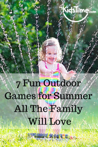 7 Fun Outdoor Games for Summer - pinterest