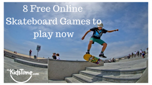 8 free on-line skateboard games to play