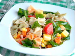 Lunch box suggestions Tuna Pasta Salad
