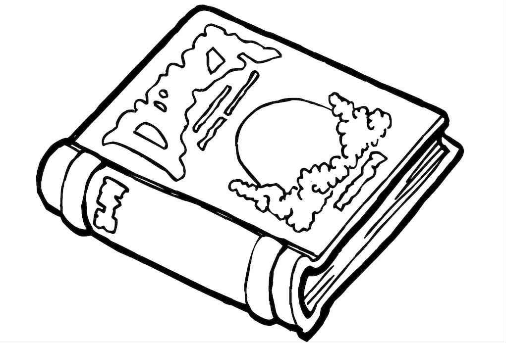 Back to school colouring pages