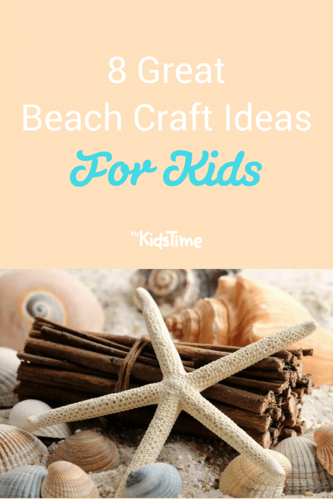 Beach Craft ideas pinterest graphic