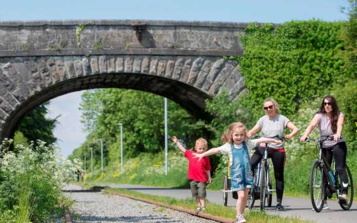 Old Rail Trail Greenway Westmeath Co Co Ireland's Content Pool