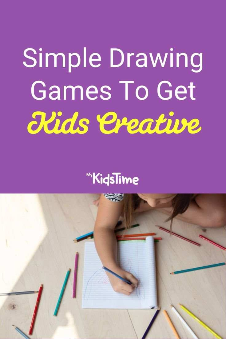 Simple Drawing Games to Get the Kids Creative