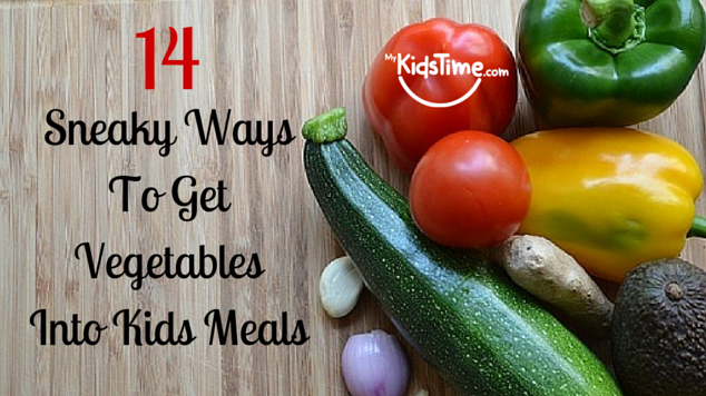 Sneaky Ways To Get Vegetables Into Kids