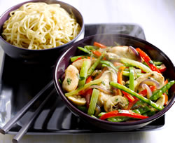 family dinner ideas chicken stirfry