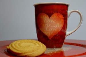Butter Biscuit with cup