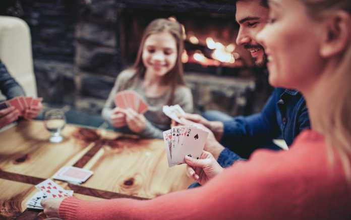 family playing card games for kids
