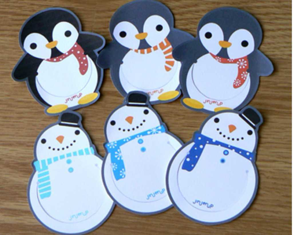 penguin bookmarks