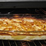 Family Meal Planner Potato and Bacon Bake