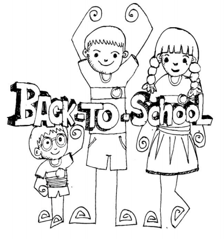 Back to school colouring pages to delight the kids