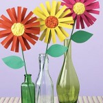 Spring Crafts for Kids Toilet Roll Paper Flowers from Better Homes and Garden