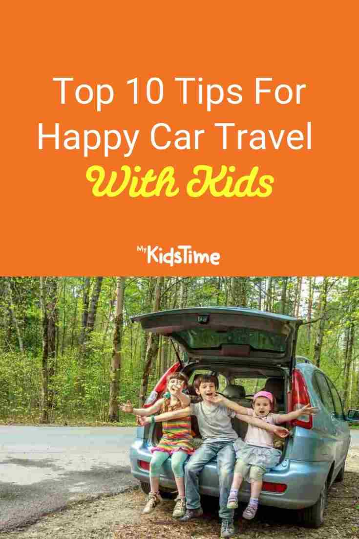 happy car travel with kids