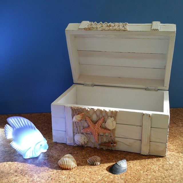 Shell Treasure Chest